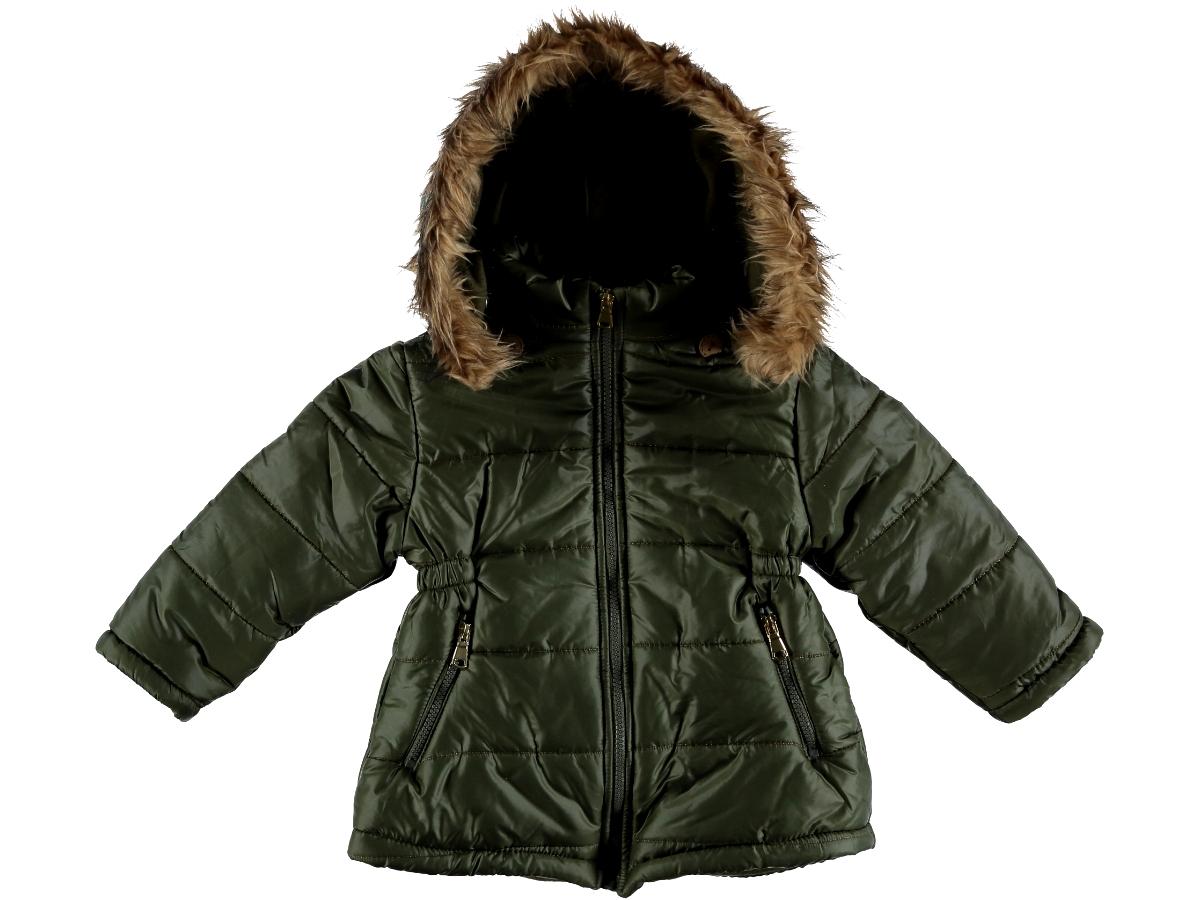 Куртка на тонком синтепоне 2/5 лет зеленая 286737